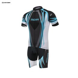 Купить Онлайн Х большой-Большой размер XINTOWN влаги Поглощение Потливость Короткие рукава велоспорта Набор Quick Dry MTB велосипед Джерси нагрудник для гонок Наборы