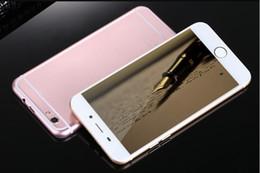 Wholesale goophone i7 plus dual core bit mtk6582 s5 quad core MB GB gb dual redmi dual g cell smartphone cellphones