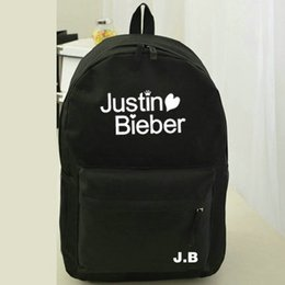 Justin Bieber backpack Pop star school bag All color daypack Hot schoolbag New game play day pack