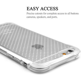 Wholesale Shockproof Gasbag Silicone Case For iPhone s plus S7 S7 Edge Ultra Thin Transparent Flexible Soft Cover Corner Air Cushion Protection