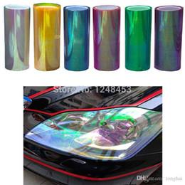 Changement de couleur des phares en Ligne-120cm * 30cm Shiny Chameleon Auto Car Styling phares Feux arrière cinéma film lumières Changer la couleur de voiture Autocollants Accessoires H210767