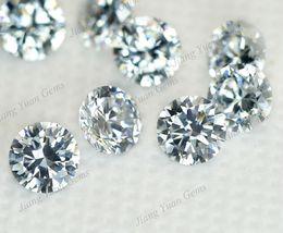 Wholesale 100pcs AAAAA Grade White mm Loose Cubic Zirconia Stone CZ Gemstone