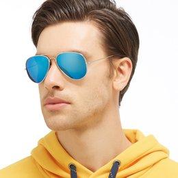 Compra Online Lente de espejo-Kunef-Men Gafas De Sol Polarized Lens Aleación De Los Hombres Marco Conductor Espejo Gafas De Sol Conducción De Pesca Masculina Deportes Al Aire Libre Eyewears Accesorios Pil