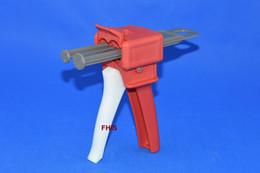 Latest style Chinese red AB glue cartridge 2: 1 1: 1 Universal 50ML Manual Dispense Gun