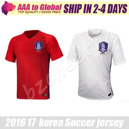 Wholesale Top Quality Korea Jersey New Korea Soccer Jerseys Home Away Maillot DE Foot Shirt survetement Korea Football shirt