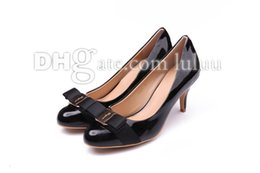 Wholesale Hot Sell New women brand designer high quality women Genuine Leather shallow mouth Office Career high heels sandals platform open heels