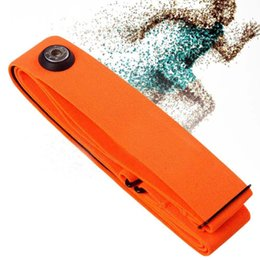 Wholesale Orange Chest Belt Strap Band for Garmin Wahoo Polar Sport Heart Rate Monitor for Bluetooth Bluetooth chest belt