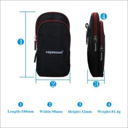 Wholesale Authentic Vapesoon Carrying Case for E Cigarettes Vapor Bag Pocket For Box Mod Atomizer VS UD Vapor Bag