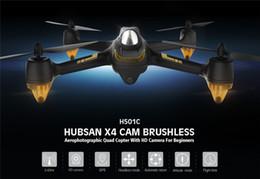 2017 vidéo rc Hubsan X4 H501C Brushless Avec 1080P HD GPS Camera Altitude Tenir sélecteur de mode RC RTF Mode Quadcopter vidéo rc offres