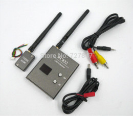 New 5.8G 600mw 32CH FPV Mini AV Transmitter TS586 + Receiver RC832 Modules Audio Video Transmitter and Receiver Set