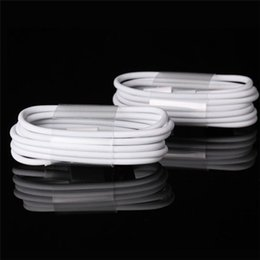 Wholesale Sales for Iphone cable USB cable m length high quality cheap price good to use free DHL shipping