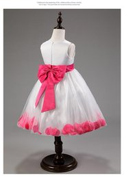 Wholesale-Halloween Kids Deluxe Hot Pink Mulan Party Dress Purse Qipao Chinese Costume 2-8