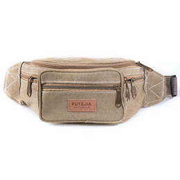 Wholesale Men s Fanny Pack Rugged Waist Bag with Zippered Compartments and Adjustable Waist Belt Color Options