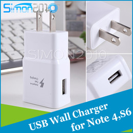 Wholesale For S7 S6 note4 fast wall charger full A lightning print home adaptor rapid charging for Samsung Galaxy S7 S6 EDGE