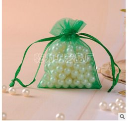Wholesale-200 pieces ( 7 x 9 cm ) Lavender Sheer Organza Wedding Party Favor Gift Candy Bag Pouch FREE