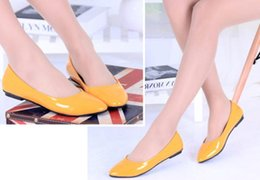 Flat spring summer new candy colored shoes color multi colored ladies with flat women shoes casual shoes 111