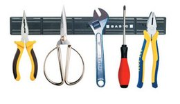 Wholesale Wall Mount Magnetic Knife Scissor tool Holder Length cm Magnetic attraction Bar Chef Rack Wall Mounted Strip