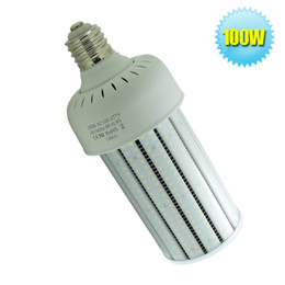 100W LED Milky PC Cover Corn Light Bulb E39 E40 Mogul Base SMD2835 13442Lm AC100~277V Equivalent to 400W Metal Halide Bulb