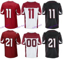 Wholesale 2016 Arizona football jersey Cardinals Soccer rugby jerseys Mathieu Fitzgerald Peterson Palmer Red White Black freeshipping