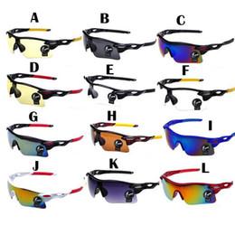 Promotion le sport pc Lunettes de soleil polarisées cadre cyclisme marque concepteur hommes de lunettes de soleil plein PC sportives en plein air fashion lunettes de soleil 9 couleurs G164