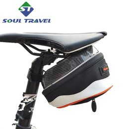 Wholesale Soul Travel Rainproof Mountain Road Bicycle Tail Rear Bag Rear Saddle Bike Pouch Cycling Seat Bags Accessories Bolsa
