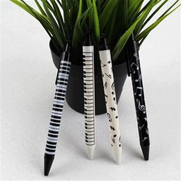 Meilleure promotion Piano Keyboard Music Notation Remarque Papeterie Study Pencil Pour Motif cadeau enfants Aléatoirement à partir de note crayon fournisseurs
