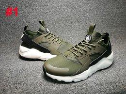 Wholesale where to buy Air Huarache High Cut Running Shoes Huraches Running trainers for men women outdoors shoes Huaraches sneakers Hurache Boost