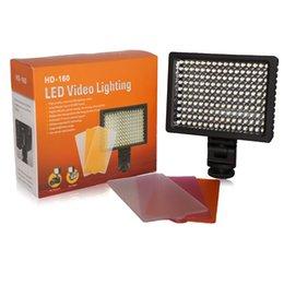 Pro HD-160-LED lampe vidéo pour Canon Nikon Pentax DSLR caméra DV caméscope dslr video pro promotion à partir de dslr video pro fournisseurs
