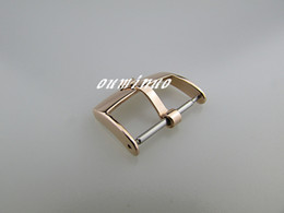 16mm 18mm 20mm Top-Grade rose gold Stainless Steel Watchband Strap Deployments Clasp Buckle For Rolex Watch