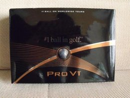 Wholesale box black PRO V1and PRO V1x Golf Balls golf brand quality with original packaging golf training ball
