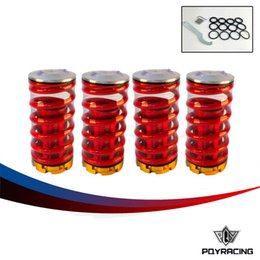 Wholesale PQY STORE Forged Aluminum Coilover Kits for Honda Civic Red available Coilover Suspension Coilover Springs PQY TH11