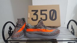 Wholesale With Original box V2 Boost Kanye West Season V2 Boosts Fashion Running shoes Sports Shoes SPLY Sneakers Beluga Orange Gre