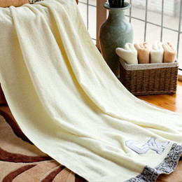 Wholesale Printed Organic Cotton Home Bath Towel x140cm for Adults Plain Travel Pool SPA Shower Body Beach Towel Serviette de Bain