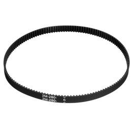 Wholesale 3D Printer Belt Closed Loop Rubber For GT2 Timing Belt For GT Teeth Length mm Width mm