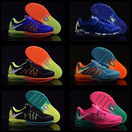 Wholesale Led Kids Shoes Airlis maxes Sneakers Boy Girls Sports Shoes Running Shoes Sapato Kids Baby Footwear moccasins Shoe with light at low Price