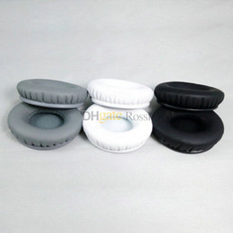 Wholesale pairs Replacement Ear pads earpad cushion foam pad cover for solo solo hd headband headphones black white gray best price