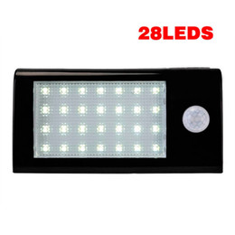 28 LEDs Solar Light Outdoor With Motion Sensor Solar Light 500 Lumens Waterproof For Garden Security Free Shipping