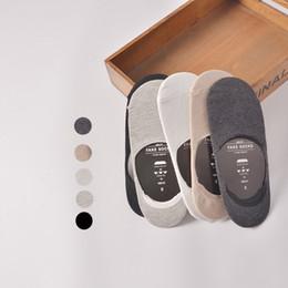 Free Shipping Summer New Men's Slipper Socks Solid Color Invisible Ultrathin sock slippers Breathable Non-slip Short Socks