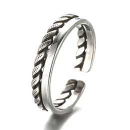 New arrival ring silver retro ring vintage charms strips line design fashion free shipping