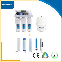 Wholesale Best Manufacturer Domestic Stages Ro Reverse Osmosis Water Filter Water Purifier System Comparison For Under Sink with a set of filter