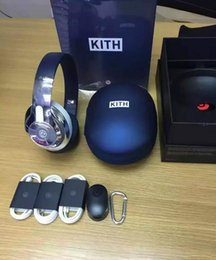 Wholesale Amazing Sound Refurbished Beats X KITH SPECIAL EDITION Beats studio Wireless Headphones Noise Cancel Bluetooth Headphones
