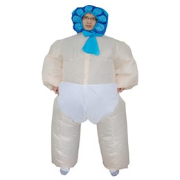 Wholesale New design inflatable Adult Baby girl costume party use halloween and christmas cloth