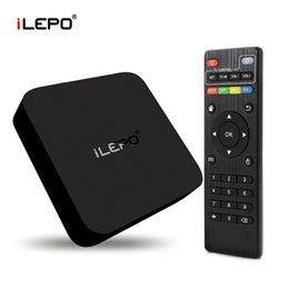 Wholesale iLepo RK3229 Quad Core mxq k TV BOX Android box KODI XBMC Full Loaded HD Output smart Media Boxes With Remote Controller MXQ TV BOX