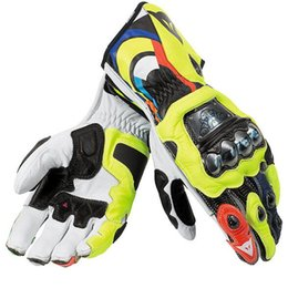 Wholesale Motogp Motorbike Motorcycle Valentino Rossi Vr Racing Leathers Gloves glo