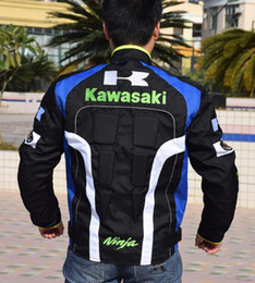 2018 new style kawasaki breathable Running jackets motorcycle jackets racing jackets riding off-road jackets motorcycle clothing k-4
