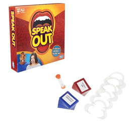 Wholesale 2016 Speak Out Game KTV party entertainment toy for fun newest best selling toy DHL from idea