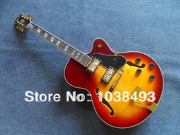 Wholesale Factory manufacturing electric guitar L5 jazz guitar best quality can order EMS
