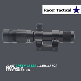 Wholesale Racer Tactical Green Laser Designator Flashlight Sight with QD Mount Remote Switch for Hunting