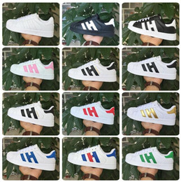 HOT! Men & Women Shoes Flat bottom plate 2016 direct selling business seven colors superstar shoes casual shoes couple shoes shoe size 36-44