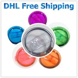 Wholesale Yeti Cups lids Splash For Yeti Mug Spill Proof Cups Lids oz Rambler Tumbler Yeti Cup Lid Replacement Leakproof Lids Covers